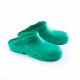 Schuzz-chaussure-sabot autoclavable BLOC-sabot plastique pro-sabot medical-homme-vert foncé