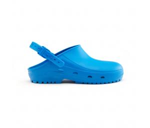 Schuzz-chaussure-sabot autoclavable BLOC-sabot plastique pro-sabot medical-femme-bleu vif