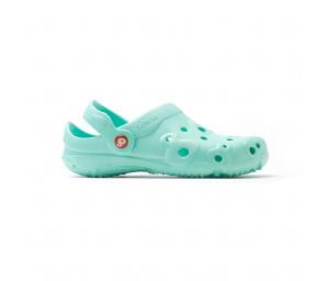 Schuzz-chaussure-sabot-globule-uni-infirmiere-sabot plastique-femme-aqua