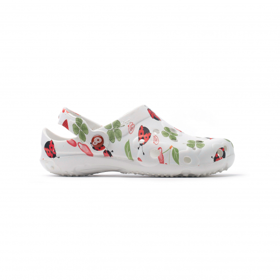 f9a51c7e5970d3 Chaussures Femme Sabot en plastique GLOBULE imprimé- achat et prix pas cher  - Livraison rapide