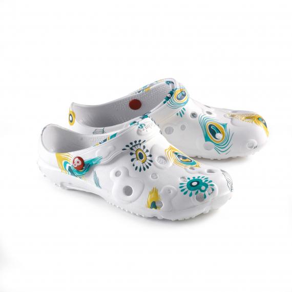 e681c102196a84 Chaussures Femme Sabot en plastique GLOBULE imprimé- achat et prix ...