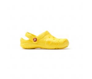 Schuzz-chaussure-sabot-globule-loisirs-extérieur-sabot plastique-enfant-jaune