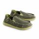Schuzz-chaussure-mocassin-Cesar-loisirs-chaussure toile-homme-vert stonewashed