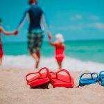 chaussures de piscine et de plage